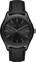 Armani Exchange Fitz horloge  - Zwart