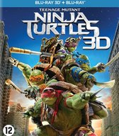 Teenage Mutant Ninja Turtles (2014) (3D & 2D Blu-ray)