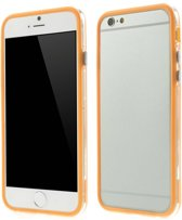 TPU Combo Bumper iPhone 6(s) - Oranje