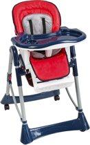 TecTake kinderstoel - babystoel - blauw / rood - 400784