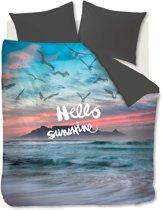 Ambiante Hello Sunshine Dekbedovertrek - lits-jumeaux - 240x200/220 - Multi
