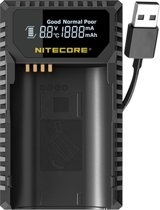 Nitecore ULSL USB lader voor Leica BP-SCL4