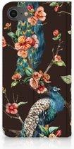 Hoesje iPhone 7 | 8 Hoesje Pauw met Bloemen
