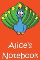 Alice's Notebook