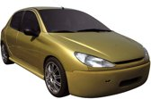 Carzone Specials Carzone Voorbumper Peugeot 206 excl. GTi 'Shaver'