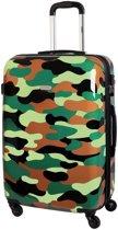 Karry XXL Reistrolley 110L Camouflage 80x54x30cm