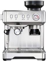 Solis Grind & Infuse Compact 1018 Espressomachine - RVS