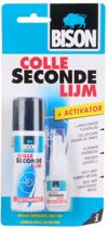 Secondelijm 10ml + activator spuitbus 50 ml