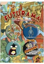 Futurama Buttons - Official Badge Pack