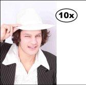 10x Al capone hoed wit