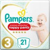 Pampers Premium Protection Pants - Maat 3 (6-11 kg) - 21 stuks - Luierbroekjes