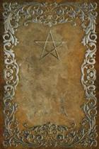 Monogram Pentagram (Neopaganism) Notebook
