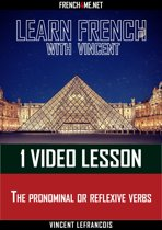 Learn French - 1 video lesson - The pronominal or reflexive verbs