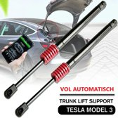 Tesla Model 3 Kofferbak Trunk Lift Gasveer Set voor het automatisch openen van de Bagageruimte met Tesla App en Touchscreen Display Auto Accessoires Nederland en België – Soft Opening en Closing – Gasveren – Trunk Auto Open Kit – Trunk Strut Upgrade
