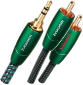 AudioQuest Evergreen 3.5mm - 2xRCA 1m (mini jack naar tulp verloopkabel)