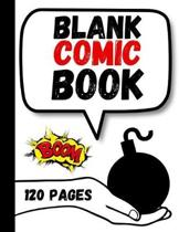 Blank Comic Book: Draw Your Own Story Book For Kids, Gifts For Comic Book Lovers and Collectors