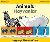 Language Memory Cards - Animals - English-polish