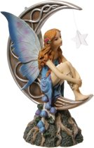 Beeld - Fee - Maanlicht - Tales of Avalon - Lisa Parker - 22 cm