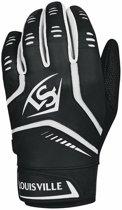 Louisville Omaha Honkbal Softbal Batting Gloves - Black - Medium