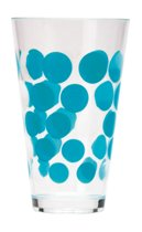 Zak! Designs Dot Dot - Drinkbeker - 20 cl - Aqua Blue