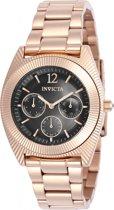 Invicta Angel 23751 - Vrouwen - Horloge - Rosekleurig - Quartz
