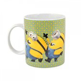 Despicable Me 2 Minions Pattern Dance Boxed Mug