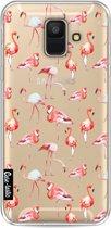Casetastic Softcover Samsung Galaxy A6 (2018) - Flamingo Party
