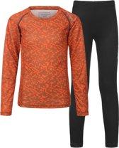 Tenson Sportshirt - Maat 158  - Unisex - oranje/zwart