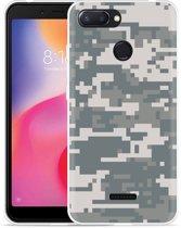Xiaomi Redmi 6 Hoesje Army Digi Camouflage