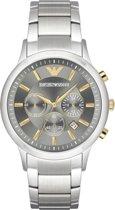 Emporio Armani Heren horloge  - Zilverkleurig