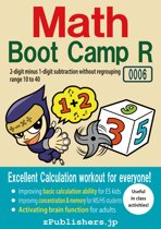 Math Boot Camp RE 0006-001 / 2-digit minus 1-digit subtraction without regrouping : range 10 to 40