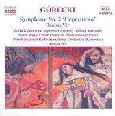 "Gorecki: Symphony no 2 ""Copernican"", Beatus Vir / Wit, Kilanowicz et al"