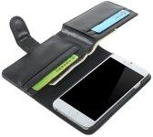 GadgetBay Portemonnee Bookcase hoesje iPhone 6 6s extra groot Lederen wallet Leer