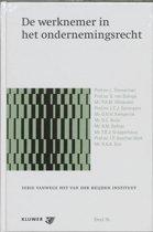 Serie vanwege het Van der Heijden Instituut te Nijmegen 76 - De werknemer in het ondernemingsrecht