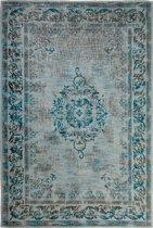 Vintage Vloerkleed Dae 160x240 - Blauw/Grijs