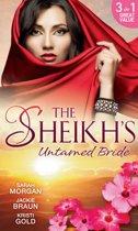 The Sheikh's Untamed Bride: Lost to the Desert Warrior / Sheikh in the City / Her Ardent Sheikh (Mills & Boon M&B)