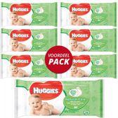 Huggies Natural Care Babydoekjes - Voordeelverpakking 6 Stuks