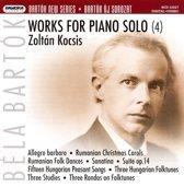Bela Bartok: Works for Piano Solo, Vol. 4