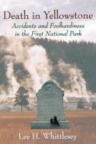 Omslag van 'Death in Yellowstone'