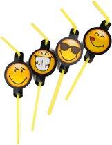 Smiley Rietjes 8 stuks