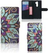 Xiaomi Note 8 Pro Hoesje Purple Flower