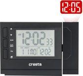 Cresta Zendergestuurde digitale wekker met projectie PRC280 Zwart