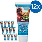 Oral B Pro-Expert Stages Star Wars - Voordeelverpakking 12 x 75ml - Tandpasta