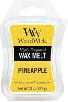 Woodwick Wax Melt Pineapple 3 stuks