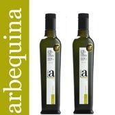 Arbequina Olijfolie Biologisch en Extra Ecologisch 2 x 250 ml