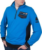 "Gaastra ® Heren Sweatshirt ""REG.T.M. -97"" blauw"
