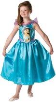 Disney Prinsessenjurk Jasmine Big Print - Kostuum Kind - Maat 98/104