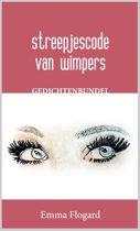 Streepjescode van wimpers