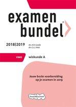 Examenbundel vwo Wiskunde A 2018/2019