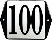 Emaille huisummer model oor - 100